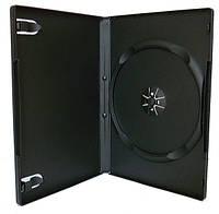 DVD box Slim black 7 мм, одинарный