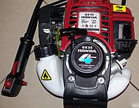 Мотокоса HONDA GX35 (3,5 кВт, 4-х тактный двигатель 1 нож,1 леска)