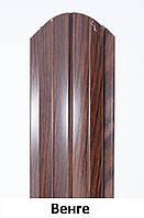 Металлический штакетник 108мм. Под дерево