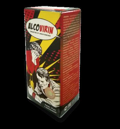 AlcoVirin (АлкоВирин) - капли от алкоголизм