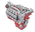 Двигатель Deutz TCD 12.0/16.0 TCD 12.0/16.0 водяное охлаждение, 240 - 520 кВт / 322 - 697 л.с.