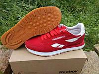 Кроссовки Reebok Classic Suede Red (Красные)