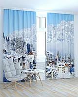Фотошторы 3D Зимний пейзаж