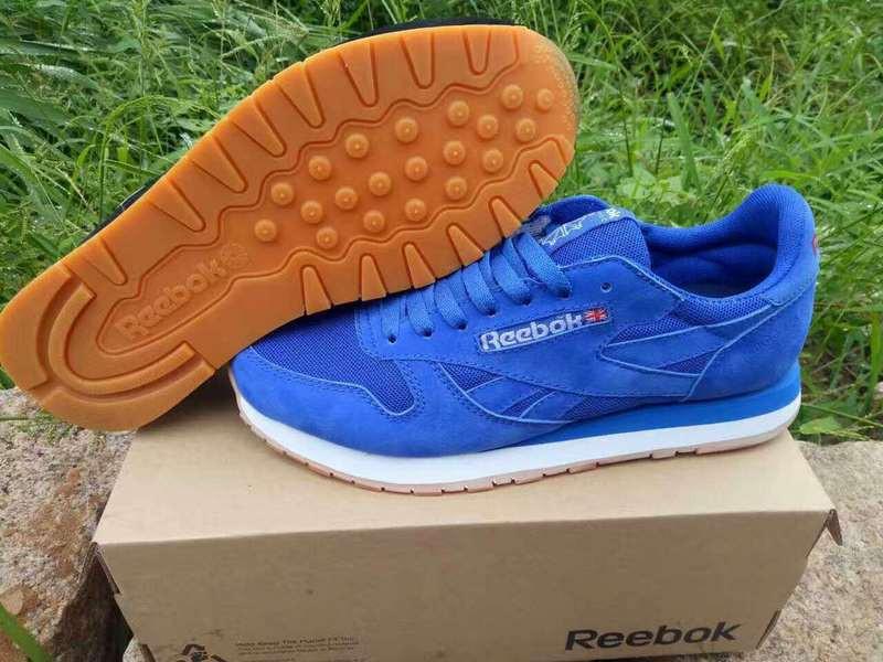 Кроссовки Reebok Classic Suede Blue Синие мужские
