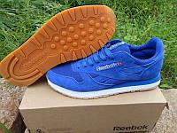 Кроссовки Reebok Classic Suede Blue (Синие)