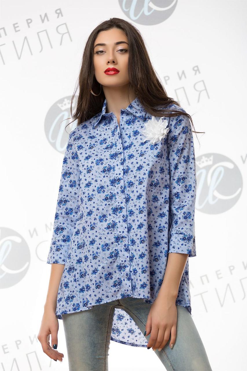6224ed9a8709 Блуза рубашка для беременных, свободного кроя коттон с аппликацией 42-44,  46-