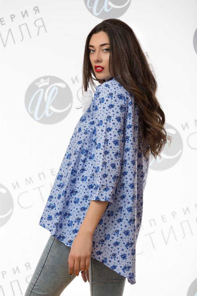4ab9d06ece39 Блуза рубашка для беременных, свободного кроя коттон с аппликацией ...