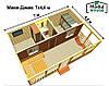 Модульные частные дома , Модульный каркасный дом, Модульный дом для постоянного проживания под ключ, фото 6