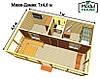 Модульные частные дома , Модульный каркасный дом, Модульный дом для постоянного проживания под ключ, фото 7