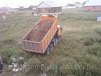 Отвал грунта Киев. Отвал строительного боя на дороги. Подсыпка участков. Отсыпка дорог, фото 1