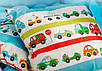 Вигвам  «Машинки» с ковриком-бомбонами, фото 6