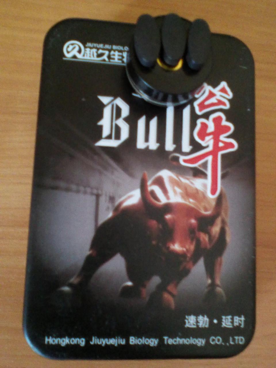 """""""Bull' (Бык) - натуральный препарат для повышения потенции (3 таблетки)."""