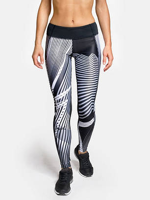 Жіночі компресійні лосини Peresvit Air Motion women's Printed Leggins Insight, фото 2