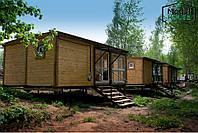 Модульные дома из блок контейнеров, Модульные дома с доставкой , Дома сборные модульные