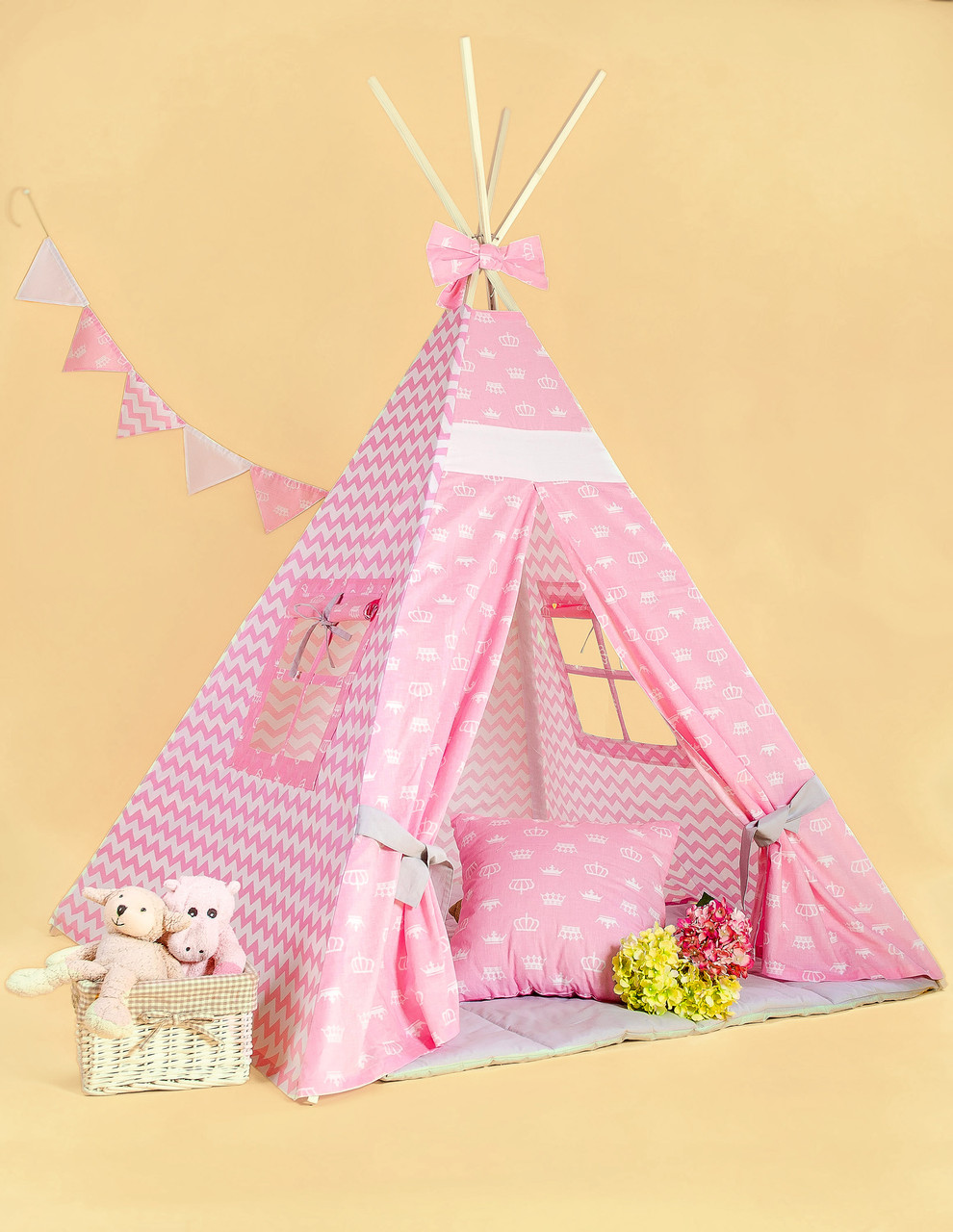 Вигвам - палатка  «Белоснежка»