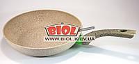 """Cковорода с антипригарным каменным покрытием 26х5.4см Fissman """"White Stone"""" (AL-4983.26)"""