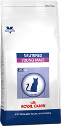 Royal Canin NEUTERED YOUNG MALE  диета для кастрированных котов до 7 лет  (0,4 кг 1,5 кг 10 кг)