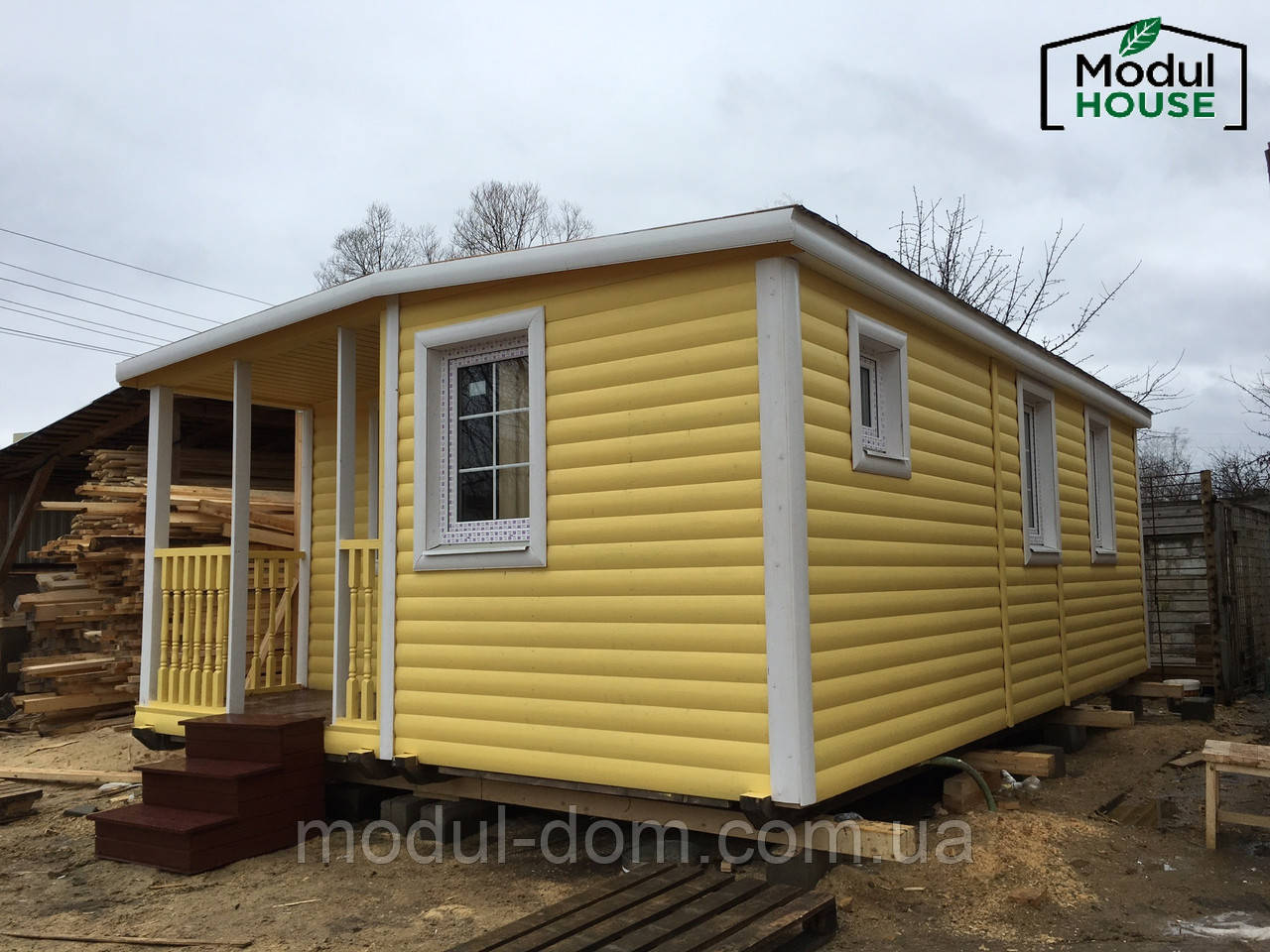 Модульное строительство домов, Модульные всесезонные дома от производителя