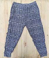 Cултанки БАТАЛ 50-64 размер женские цветные Ласточка с карманами и манжетами (разные рисунки)  ЛЖЛ-3012