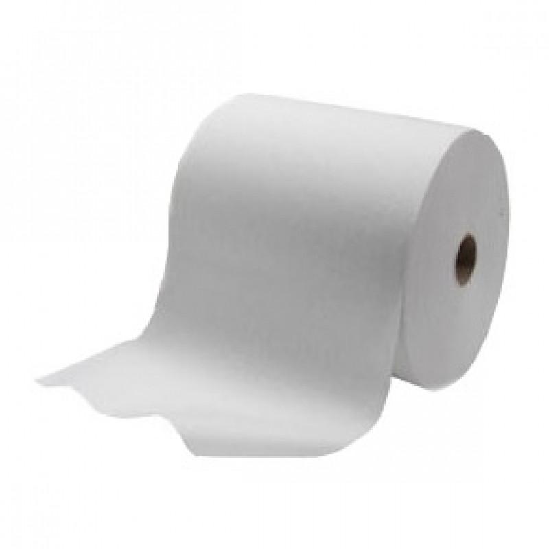 Бумажные полотенца для рук в рулоне 1 слой SCOTT белые