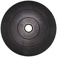 Диск  гантельный композитный в пластиковой оболочке Newt Rock Pro 5 кг