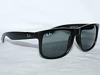 Солнцезащитные Очки Ray-Ban Wayfarer (Лучшая Копия) Черные Матовые 5f8180b43b7