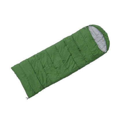 Спальный мешок Terra Incognita Asleep 300 WIDE (L) зелёный 4823081502272 + Бесплатная доставка по Украине, фото 2