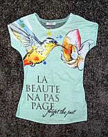 Стильная футболка Колибри для девочки