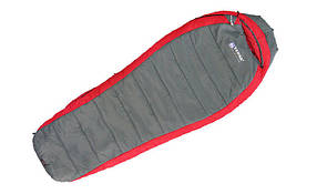 Спальный мешок Terra Incognita Termic 1200 R красный/серый 4823081501961 + Бесплатная доставка по Украине