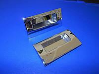 Ручки на раздвижную дверь маленькие хром, фото 1