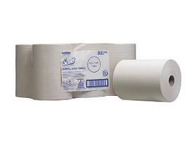 Бумажные полотенца для рук в рулоне 1 слой SCOTT SLIMROLL белые