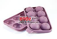 Форма силиконовая для леденцов на палочке 8 ячеек 19х11х3.5см Fissman (BW-6718.8)