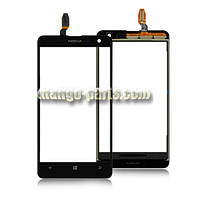 Тачскрин/Сенсор Nokia 625 Lumia черный  high copy