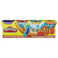 Набор Play-Doh плей до из 4 баночек 4-Pack 560 г