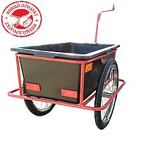 Велоприцеп грузовой с кузовом и креплением