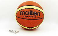Мяч баскетбольный PU №7 MOLTEN BGF7