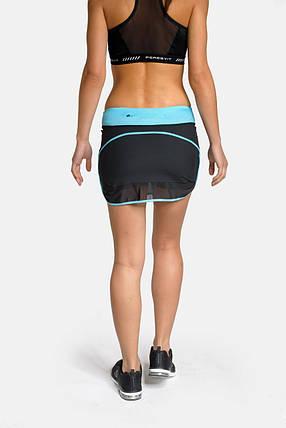Спортивная юбка Peresvit Air Motion Women's Sport Skirt Aqua, фото 2