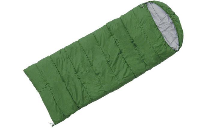 Спальный мешок Terra Incognita Asleep 400 WIDE R зеленый 4823081502326 + Бесплатная доставка по Украине, фото 2