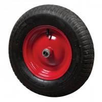 Колесо з металевим диском для тачки, вісь 16мм Verano 70-421