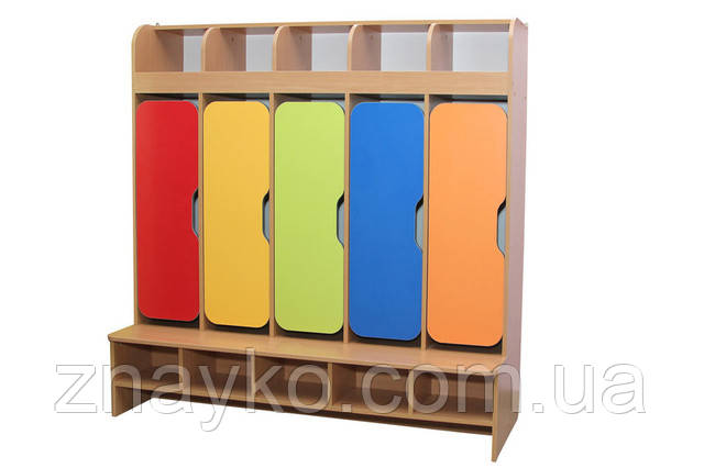 Шкафчики для раздевалки в учебном заведении