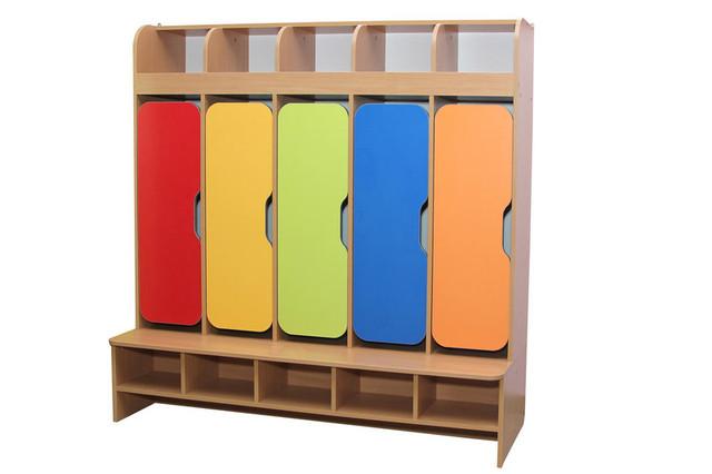 Секционные шкафы для детского сада