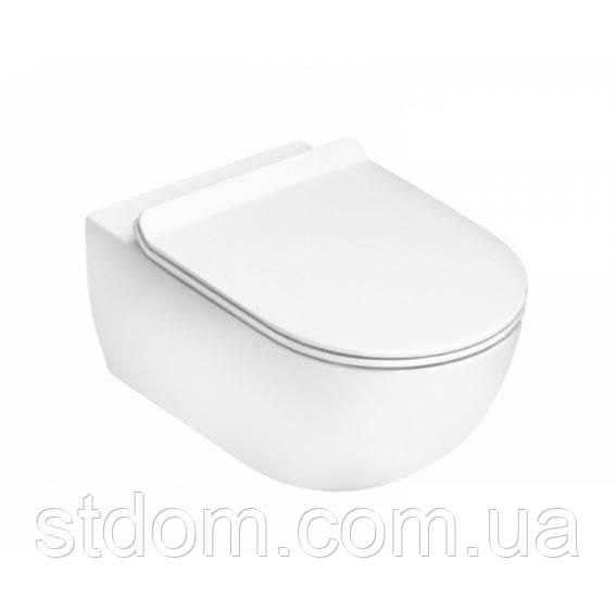Унітаз підвісний Flaminia APP MiniApp комплект кріплень+gocleanTM AP119G білий