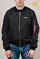 Мужская куртка-бомбер Olymp black