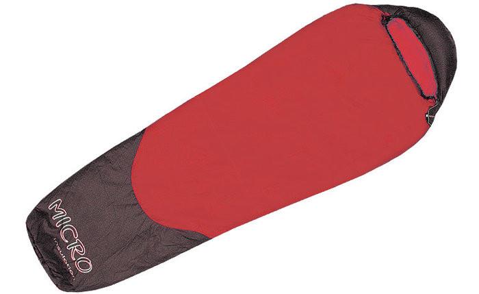 Спальный мешок Terra Incognita Compact 1000 (L) красный/серый 4823081503453 + Бесплатная доставка по Украине