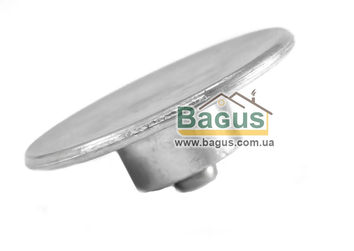 Алюминиевая ручка для крышки 7,5см Биол Р03