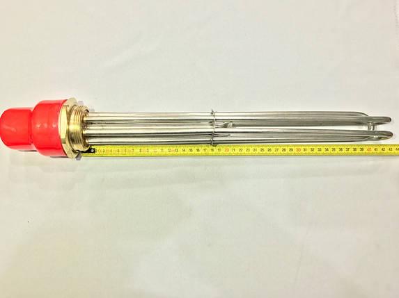 Блок тэн (нержавейка) 12 кВт резьба 2 дюйма 380 В производство Турция SANAL, фото 2