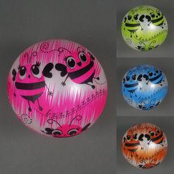 Мяч детский резиновый 4 цвета, 60гр, 4 шт., 772-447