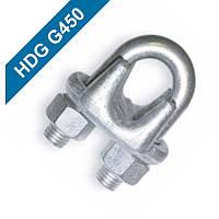 Зажим для каната HDG450 №6 - №46,5 № 6