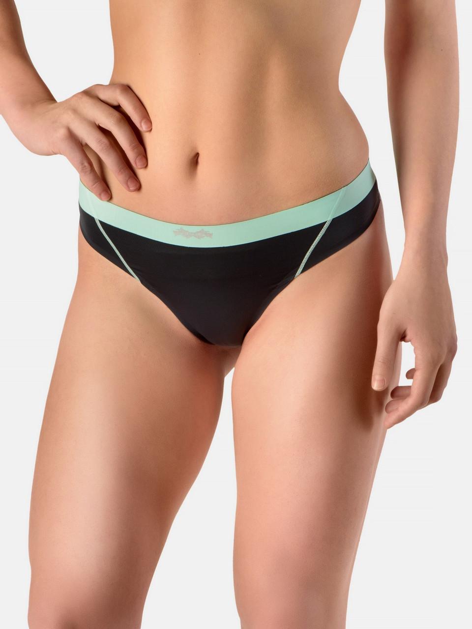 Женские трусы спортивные Peresvit Performance Women's Thongs Graphite - Mint