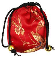 """Шелковый мешочек для горячего и холодного массажа """"Ацуи"""" - красный, 1 шт"""